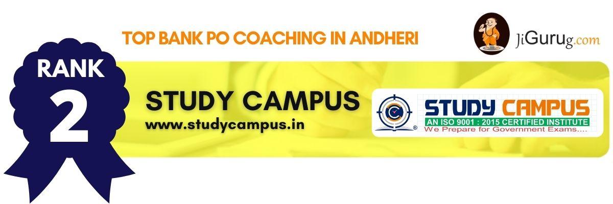 Top Bank PO Coaching in Andheri