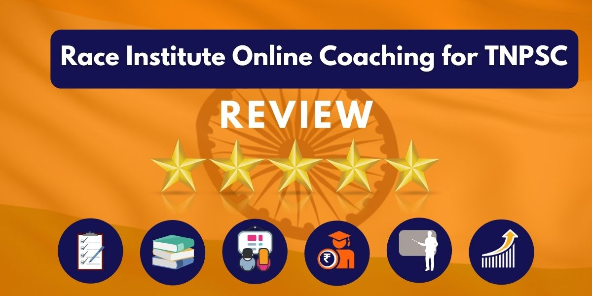 Race Institute Online Coaching for TNPSC Review