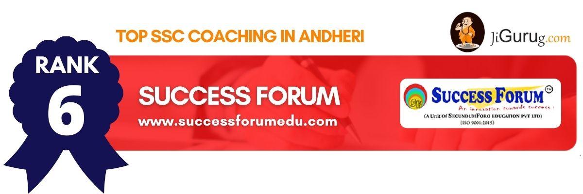 Top SSC Coaching in Andheri