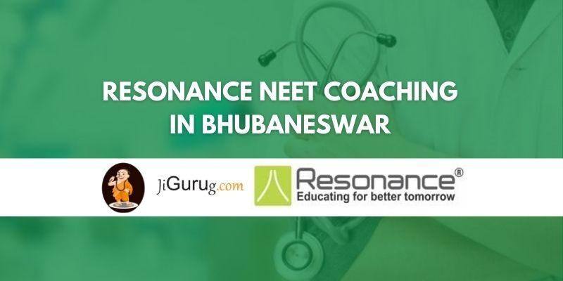 Resonance NEET Coaching in Bhubaneswar Review