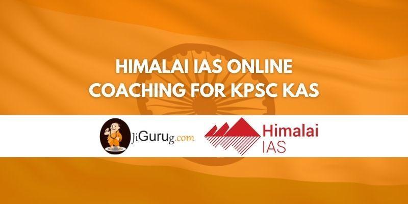 Review of Himalai IAS Online Coaching For KPSC KAS