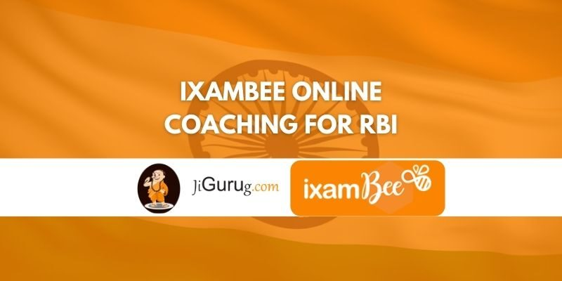 Review of IxamBee Online Coaching for RBI