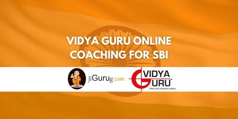 Review of Vidya Guru Online Coaching for SBI