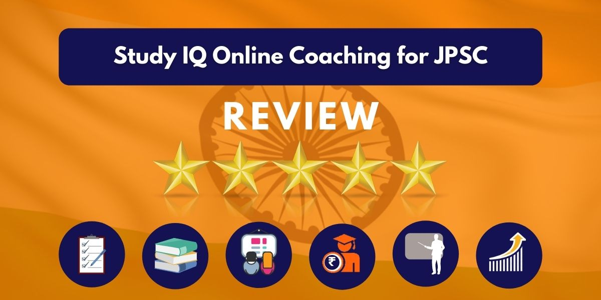 Study IQ Online Coaching for JPSC Review