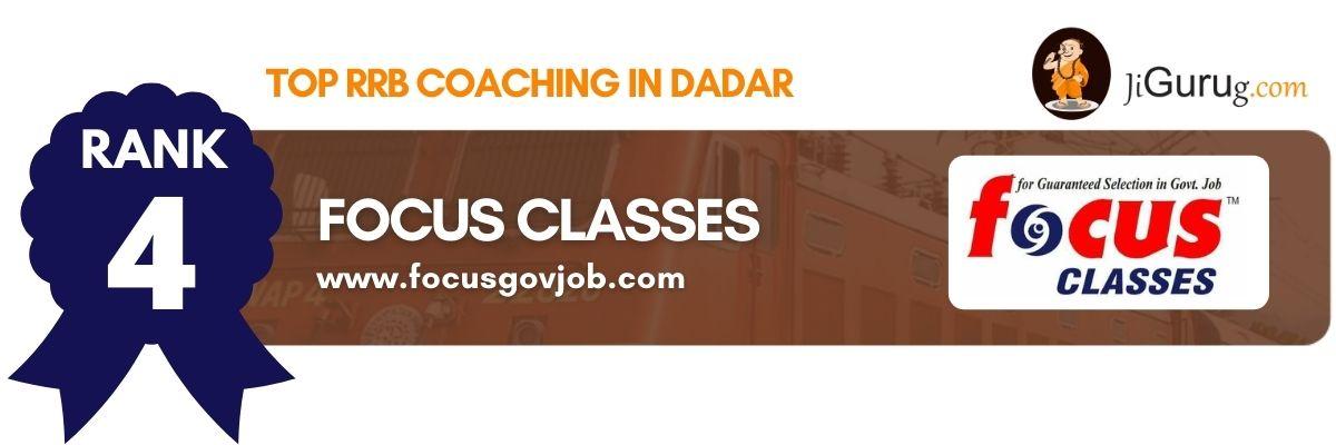 Best RRB Coaching in Dadar