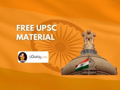 Free UPSC Material 2020 – List of IAS Study Materials