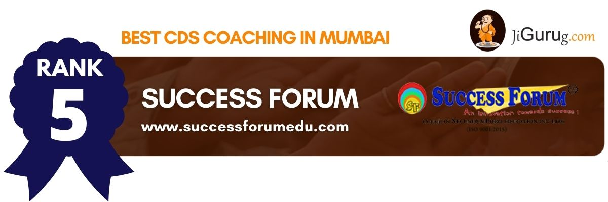 Top CDS Coaching in Mumbai