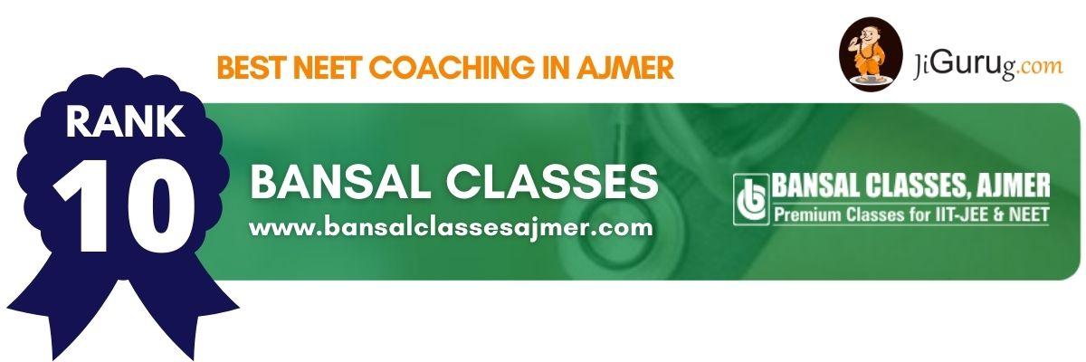 Top NEET Coaching in Ajmer