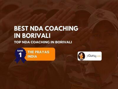 Best NDA Coaching in Borivali