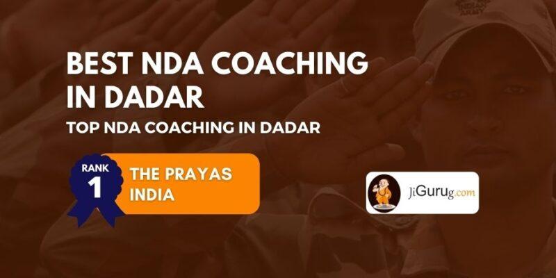 Best NDA Coaching in Dadar