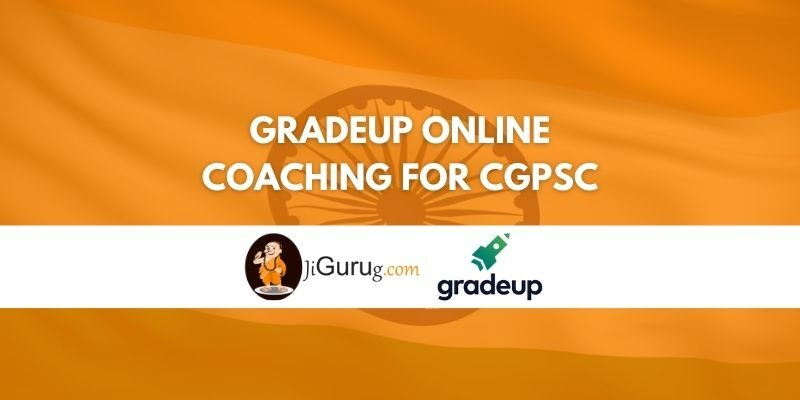 Gradeup Online Coaching For CGPSC Review