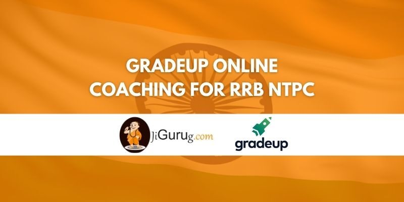 Gradeup Online Coaching For RRB NTPC Review