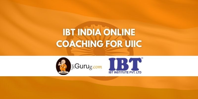 IBT India Online Coaching for UIIC Review
