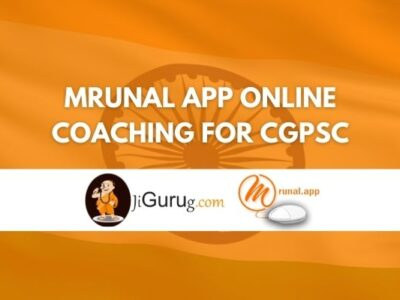 Mrunal App Online Coaching For CGPSC Review