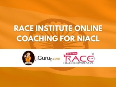 Race Institute Online Coaching For NIACL Review