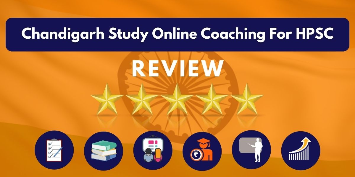 Review of Chandigarh Study Online Coaching For HPSC