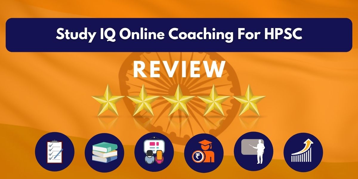 Review of Study IQ Online Coaching For HPSC