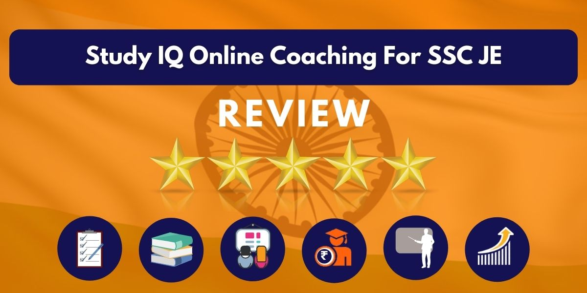 Review of Study IQ Online Coaching For SSC JE