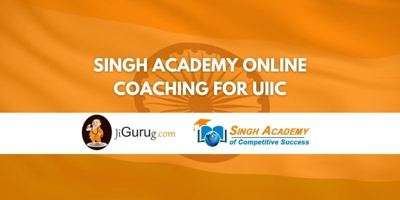 Singh Academy Online Coaching For UIIC Review