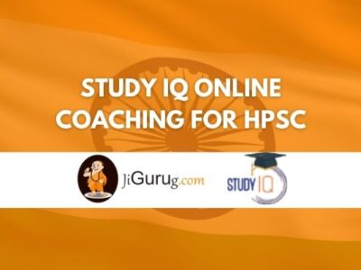 Study IQ Online Coaching For HPSC Review