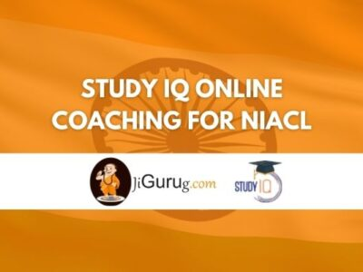 Study IQ Online Coaching For NIACL Review