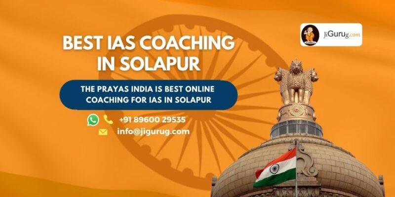 Top IAS Coaching Centres in Solapur