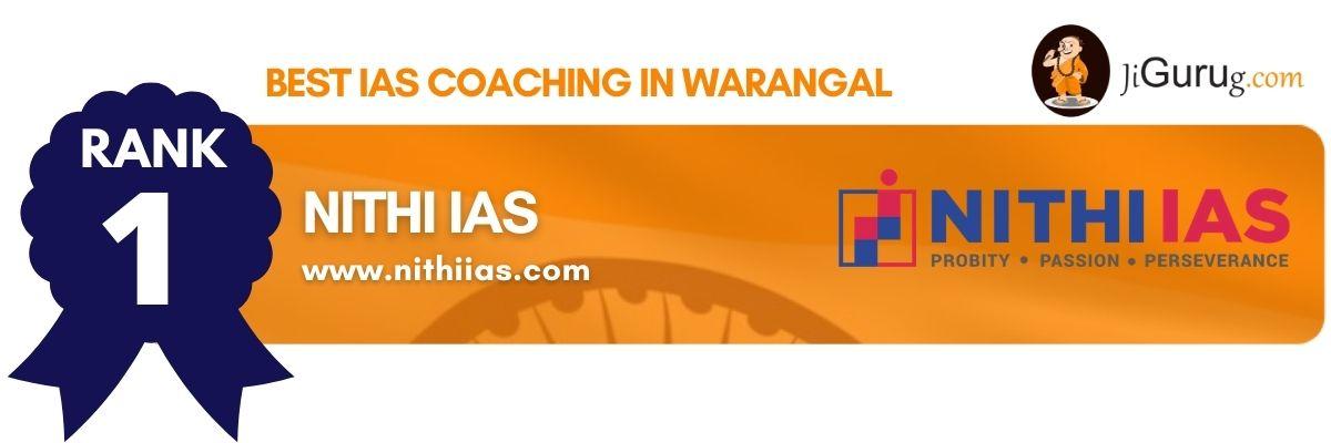 Top IAS Coaching in Warangal