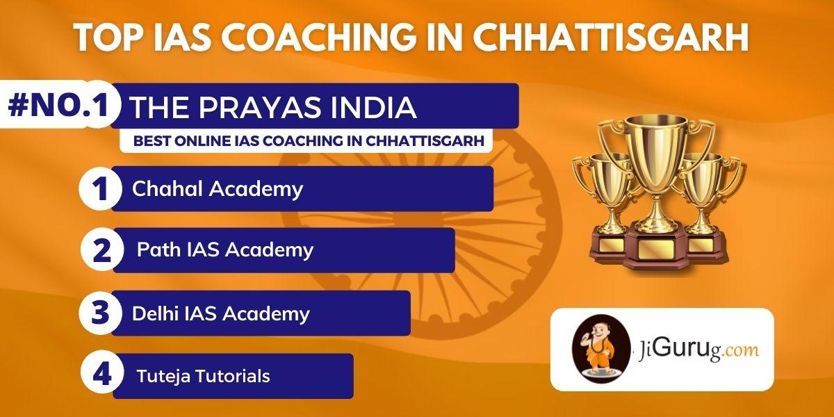 List of Top IAS Coaching Institutes in Chhattisgarh