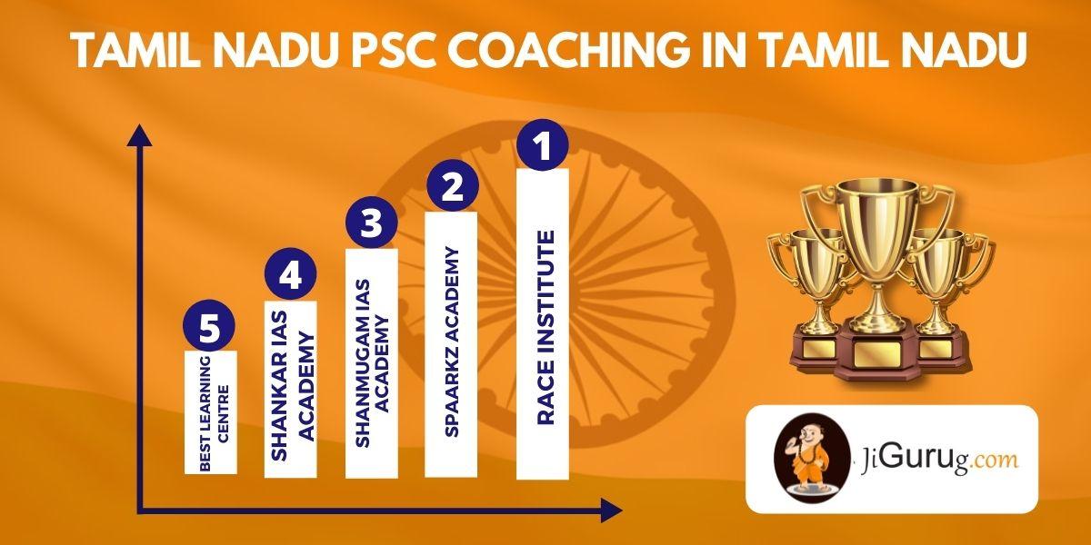 List of Best Tamil Nadu PSC Exam Coaching in Tamil Nadu