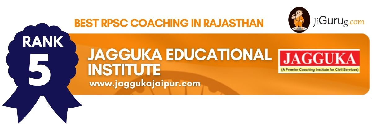 Best RPSC Coaching in Rajasthan