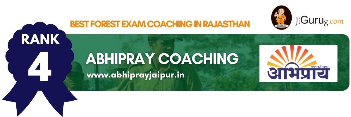 Top Forest Exam Coaching in Rajasthan