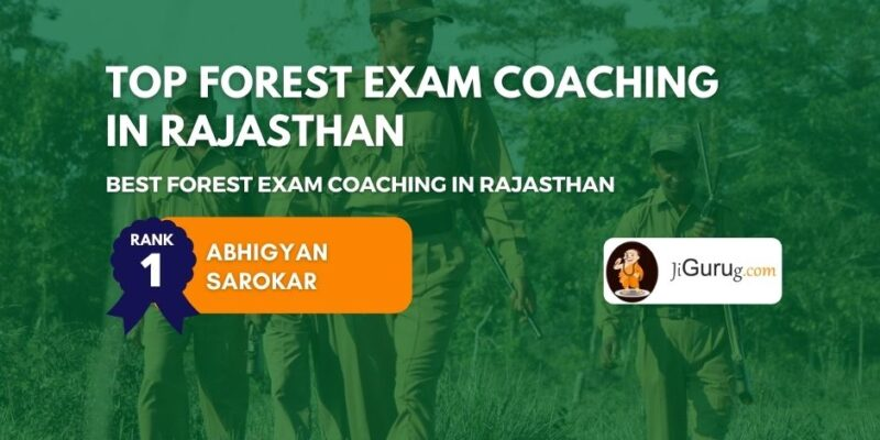 Best Forest Exam Coaching in Rajasthan