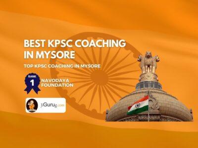 Top KAS Coaching in Mysore