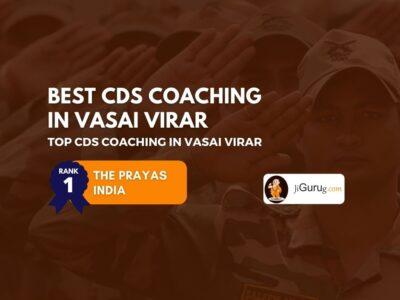 Best CDS Coaching in Vasai Virar