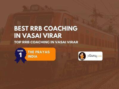 Best RRB Coaching Centres in Vasai Virar
