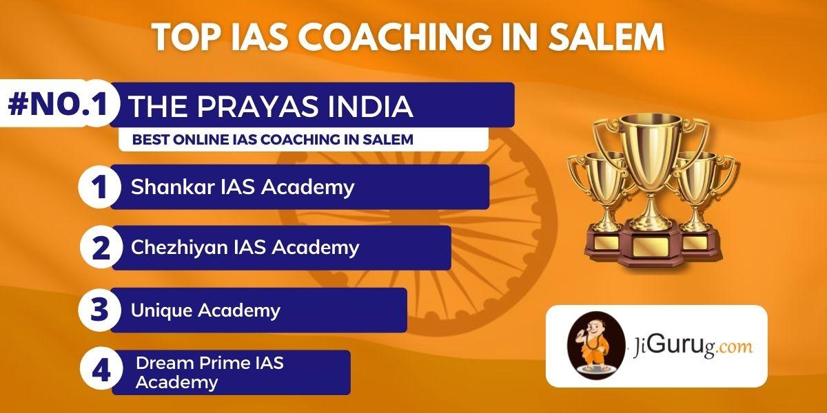 List of Best IAS Coaching Institutes in Salem