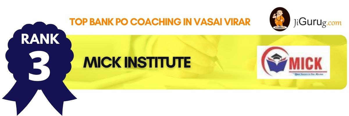 Best Bank PO Coaching in Vasai Virar
