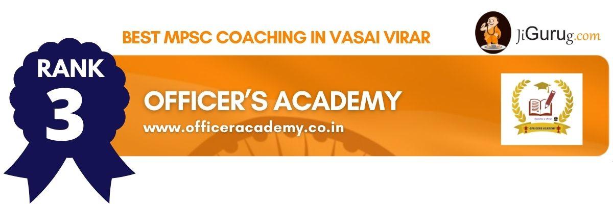 Top MPSC Coaching in Vasai Virar