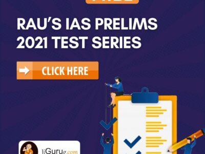 Rau's IAS Prelims 2021 Test Series free