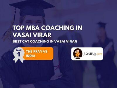 Top CAT Coaching Institutes in Vasai Virar