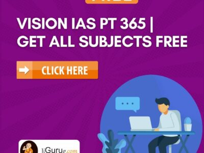 Vision IAS PT 365 All Subjects Free