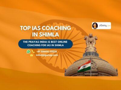 Top IAS Coaching Institutes in Shimla