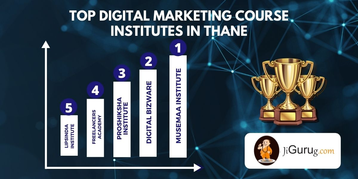 List of Top Digital Marketing Courses Institutes in Thane