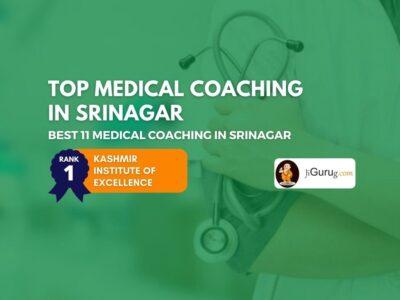 Top NEET Coaching Centres in Srinagar