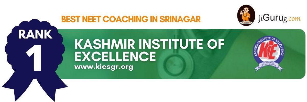 Top NEET Coaching in Srinagar
