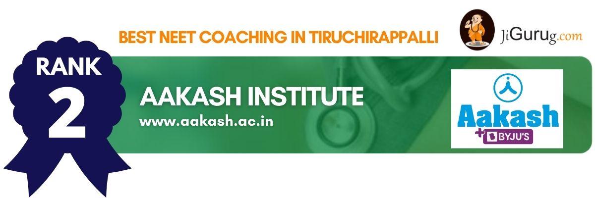 Best NEET Coaching in Tiruchirappalli