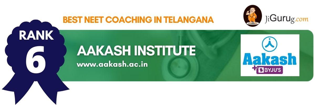 Top NEET Coaching in Telangana